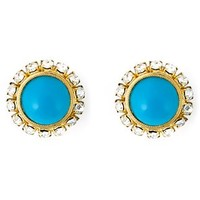 Christian Dior Vintage Round Clip-on Earrings - Katheleys Vintage - Farfetch.com