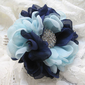Two Tone Flower Bracelet Wrist Corsage Designed in Your Colors Custom Order Wedding Prom Homecoming Winter Formal Accessories