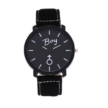 Unisex Quartz Clock Casual Wristwatch