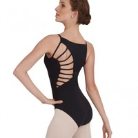 SUNBURST MOCK TURTLE LEOTARD