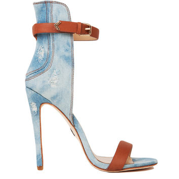 Emily B. by ZigiNY Yayi Denim Heel