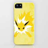 Jolteon iPhone & iPod Case by JHTY23