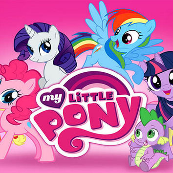 My Little Pony Friendship Cartoon Cast Poster 11x17