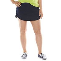 Chaps French Terry Skort - Women's Plus Size, Size: