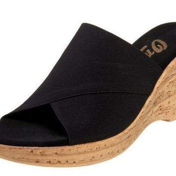 ONETOW Onex Christina Black Sandals