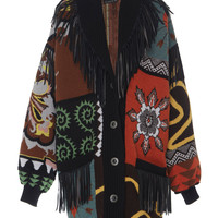 Patterned Fringe Coat | Moda Operandi