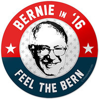 "Vipergraphics, Bernie Sanders Bumper Sticker Feel The Bern 2016 4"" (3 Pack)"