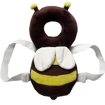 Baby Toys headrest baby neck Cute wings nursing drop resistance cushion Bee Ladybug plush toys