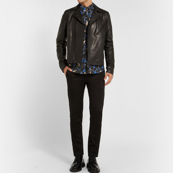 Acne Studios - Oscar Leather Biker Jacket | MR PORTER