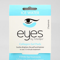 EYES by ToGoSpa Ice Water Collagen Gel Eye Pads	 - Urban Outfitters