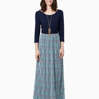 Arlo Knit Mix Maxi Dress| Fashion Apparel | charming charlie