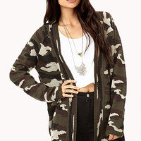 Desert Dream Camo Cardigan