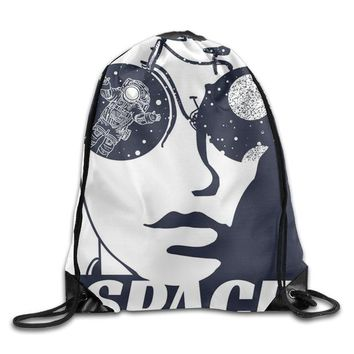 Cool Backpack school SAMCUSTOM 3D Print Cool Men Shoulders Bag Women Fabric Backpack Girls Beam Port Drawstring Travel Shoes Dust Storage Bags AT_52_3