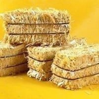 """Miniature 2"""" Hay Bales - Great for craft projects -  p/n 101-0802 - 6 Bales"""