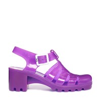 Juju Babe Fluro Purple Heeled Sandals