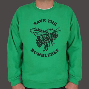Save the Bumblebees Men's Sweater
