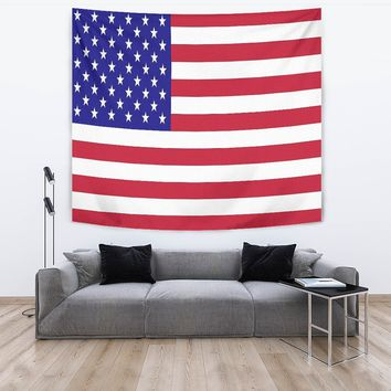 US Flag Tapestry