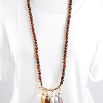 The Isabella Necklace - Neutral