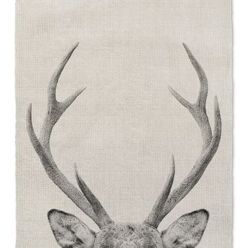 DEER Area Rug By Vivid Atelier