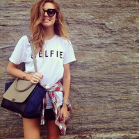Celfie Tee Women tshirt Selfie Parody Celine, Men Women Celfie Shirt Inspired Vogue Hipster tumblr Blogger clothes XS S M L XL XXL