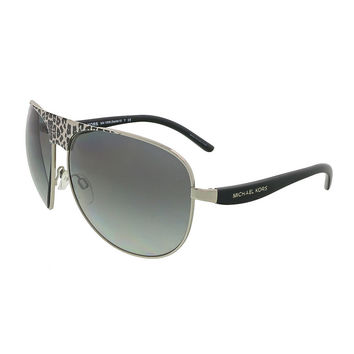 Michael Kors Black/Silver Wrap Sunglasses