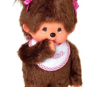 Monchhichi Classic Girl - Pink - Classic 70's and 80's Toys