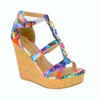 Dontcha Know Wedge Sandal   Chinese Laundry