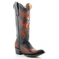 """Gameday Boots 13"""" Leather Oklahoma State Cowboy Boots"""