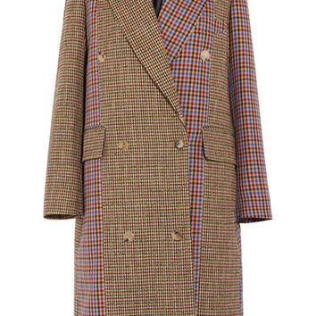 Golden Goose Deluxe Brand - Nina oversized patchwork wool-blend tweed coat