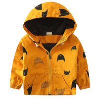 Jacket Girls Jacket for Girl Coat Kids Winter Outwear Coats Clothes Spring Autumn Fashion  Windbreaker Boys Outerwears New SC221