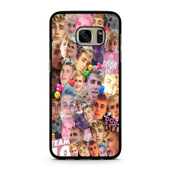 Jake Paul Collage 1 Samsung Galaxy S7 Case