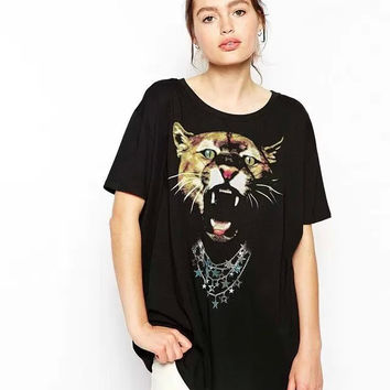 New Hot Fashion Womens Casual Blouse Short Foever21 Like Sleeve Shirt T shirt Summer Blouse Tops = 4720986564