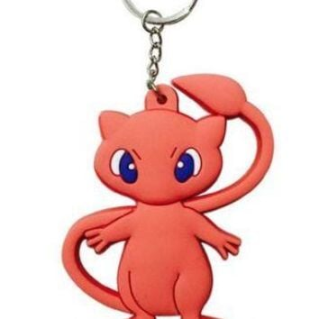Brand New Video Game Pokemon Mew Keychain