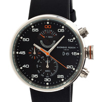 Men's Speed Timer IV Leather Strap Watch