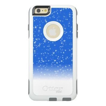 Cool Blue Texture OtterBox iPhone 6/6s Plus Case