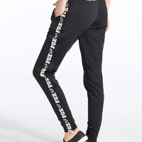 Fox Challenger Womens Fleece Pants Black  In Sizes