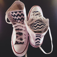 Chevron High tops