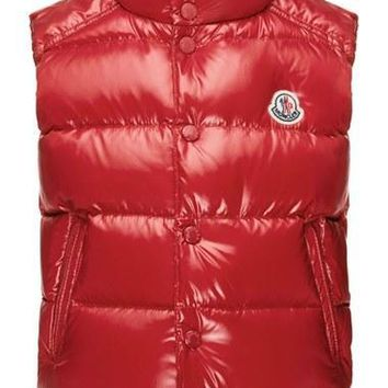 Toddler Boy's Moncler Down Puffer Vest, Size 2Y