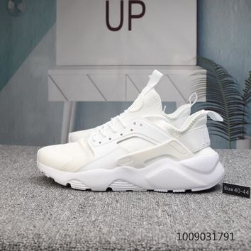 KUYOU N708 Nike Air Huarache Ultra Mesh Running Shoes White