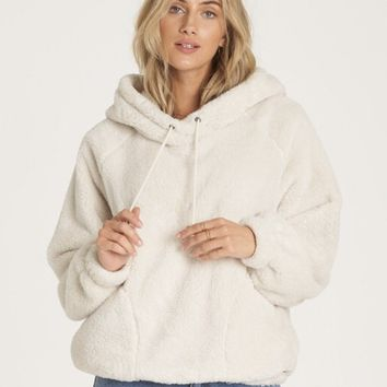 Warm Regards Sherpa Pullover