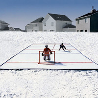 Backyard Hockey Rink - OpulentItems.com