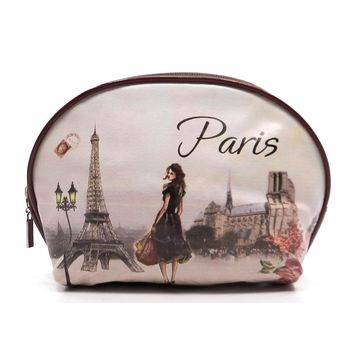Graphic Cosmetic Bag, Paris Romance