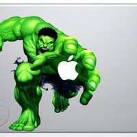 Incredible Hulk Apple Macbook Decal skin sticker