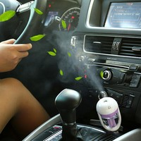 Car Air Freshener Steam Humidifier Essential Aromatherapy