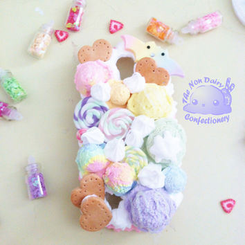 Custom Decoden Phone Case by NDConfectionery on Etsy
