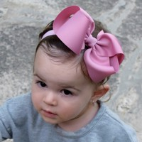 Large bow headbands, Newborn headbands, Baby bow headbands, Toddler headbands. Free shipping on orders over $25.