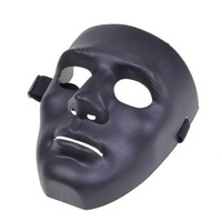 Full Face Hockey Type Airsoft Mesh Goggle Mask Costume Party Dance