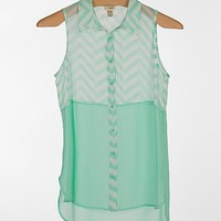 Daytrip Chiffon Shirt - Women's Shirts/Tops | Buckle