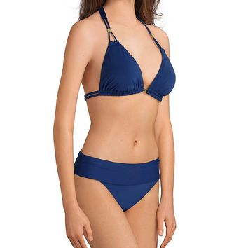 Bleu Rod Beattie Go For The Gold Tall Triangle Swimsuit Top & Sarong Hipster Swimsuit Bottom | Dillard's