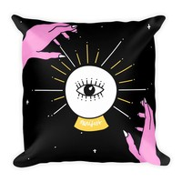Manifest Square Pillow